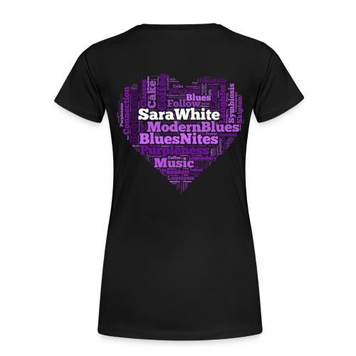 Blues Love - Women's Premium T-Shirt