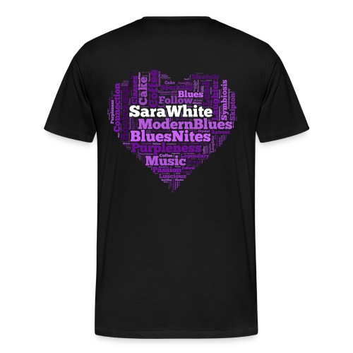 Blues Love - Men's Premium T-Shirt