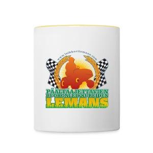 Kaksivärinen muki - Coffee mug - Contrasting Mug