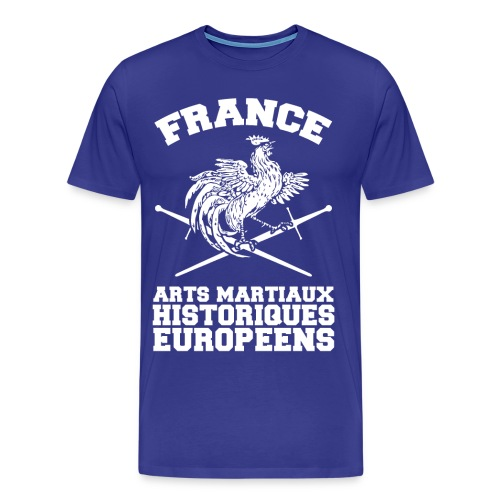 Tee-Shirt H Coq Old School Couleurs - T-shirt Premium Homme