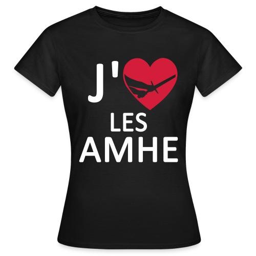 TS F J'Aime les AMHE Couleurs - T-shirt Femme