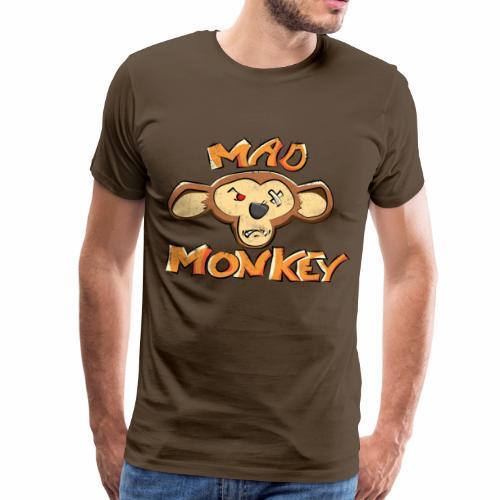 Mad Monkey - Mannen Premium T-shirt