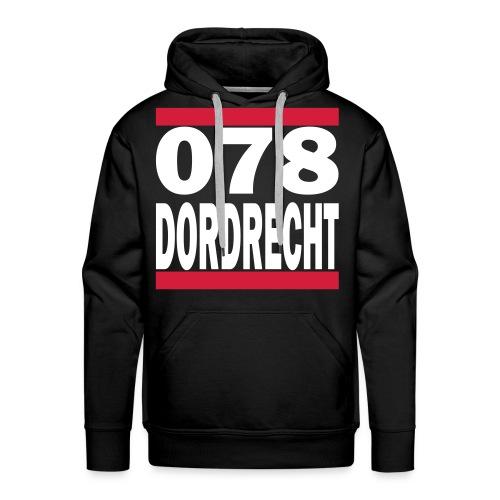 078-Dordrecht - Mannen Premium hoodie