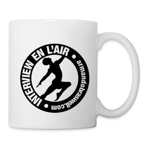 White Interview En L'air Mug - Mug