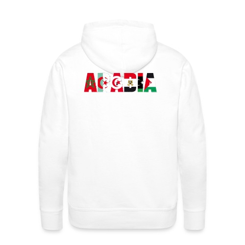 ARABIA(texte modifiable) - Sweat-shirt à capuche Premium pour hommes