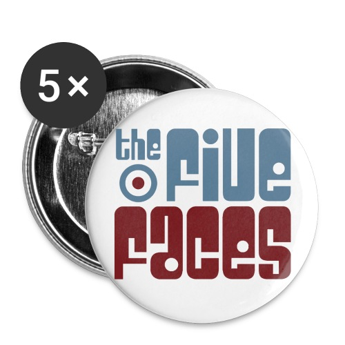 2014 Logo Badge - Buttons small 1''/25 mm (5-pack)