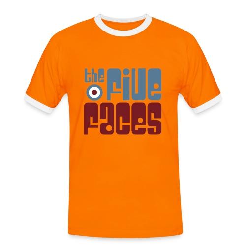 Man Ringer Tee 2014 Logo - Men's Ringer Shirt