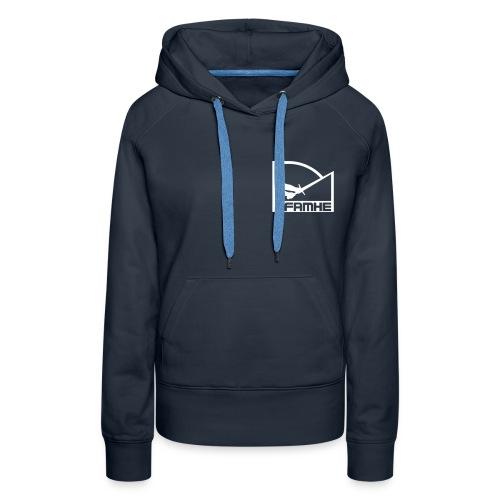 Sweat à Capuche F Classic Old School Couleurs - Sweat-shirt à capuche Premium pour femmes