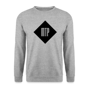 sweat losange mtp gris - Sweat-shirt Homme