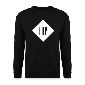 sweat losange mtp noir - Sweat-shirt Homme