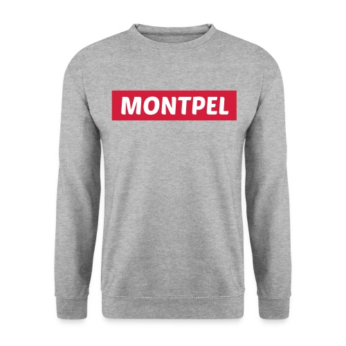 sweat homme montpel gris - Sweat-shirt Homme