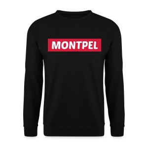 sweat homme montpel noir - Sweat-shirt Homme