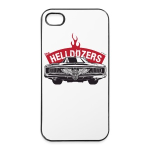 The Helldozers Hotrod iPhone 4/4S Hard - iPhone 4/4s Hard Case