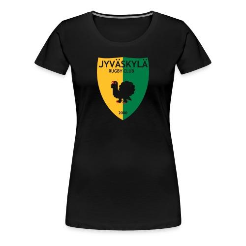 Naisten paita logolla - Naisten premium t-paita