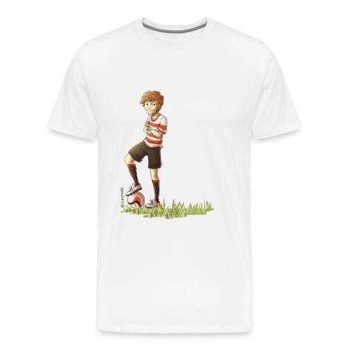Football Louis Mens Shirt - Men's Premium T-Shirt
