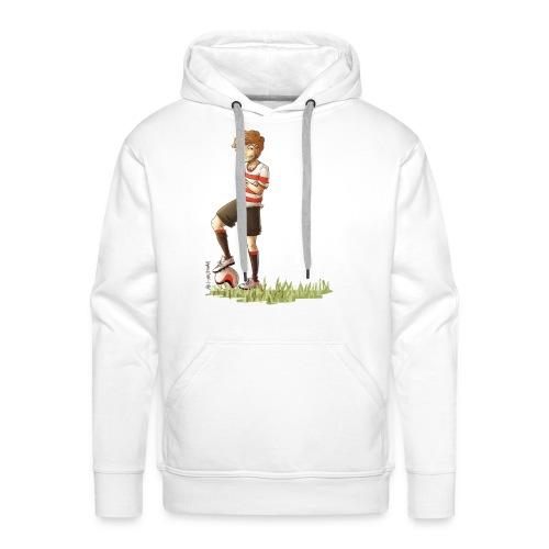 Football Louis Mens Hoodie - Men's Premium Hoodie