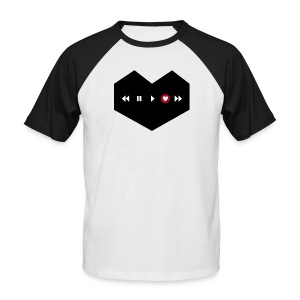 Rec-Love - Männer Baseball-T-Shirt