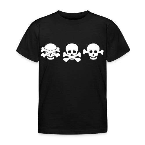 die drei Totenköpfe - Kinder T-Shirt