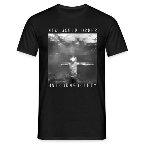 UNICORNSOCIETY MOSAIC - Männer T-Shirt