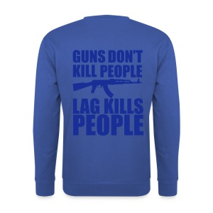 Guns Don't Kill People Lag KIlls People - Men's Sweatshirt