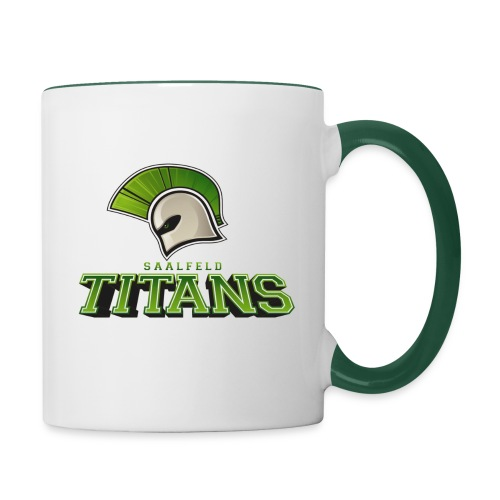 Saalfeld Titans Tasse - Tasse zweifarbig