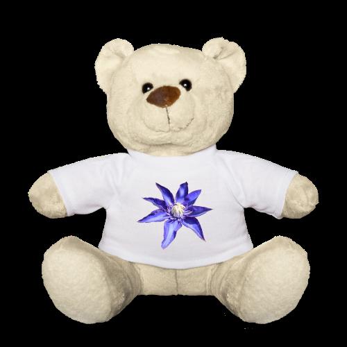 TIAN design Teddy Bär - Clematis - Teddy