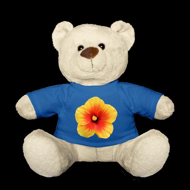 TIAN design Teddy Bär - Hibiskus