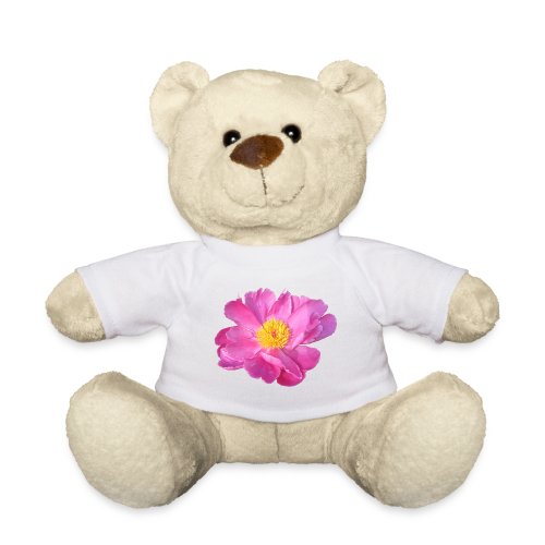 TIAN GREEN Teddy Bär - Pfingst Rose - Teddy
