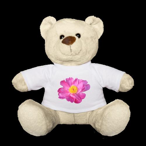 TIAN design Teddy Bär - Pfingstrose - Teddy