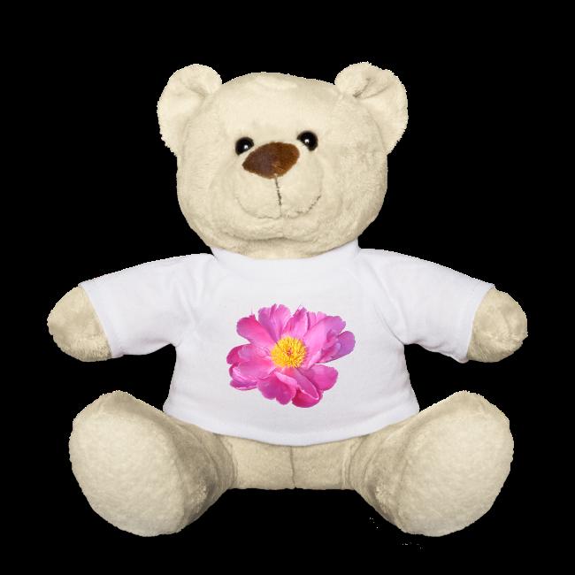 TIAN design Teddy Bär - Pfingstrose