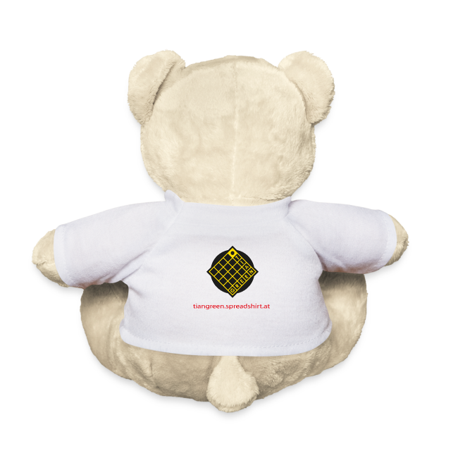 TIAN design Teddy Bär - Pfingstrose