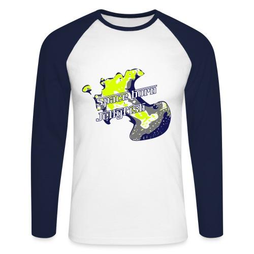 Spaceborn Jellyfish Jungs - Männer Baseballshirt langarm