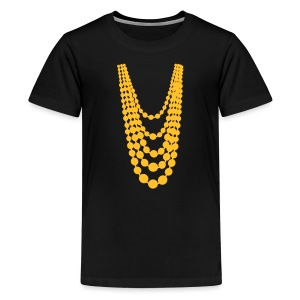 Pearl Necklace - Teenager Premium T-Shirt