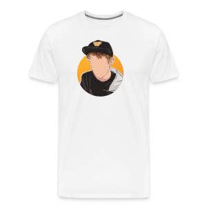 Orange Work (unisex) - Herre premium T-shirt