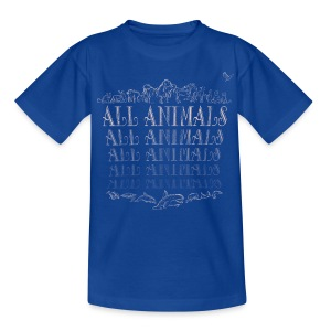 All Animals - T-shirt Enfant