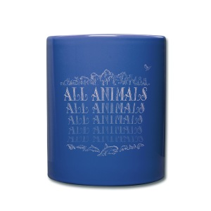 All Animals   - Tasse en couleur
