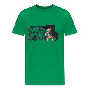Nudité (premium) - T-shirt Premium Homme