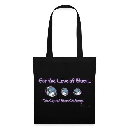 For the love of Crystal Blues - Tote Bag