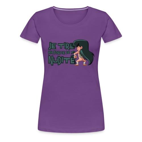Nudité (premium) - T-shirt Premium Femme