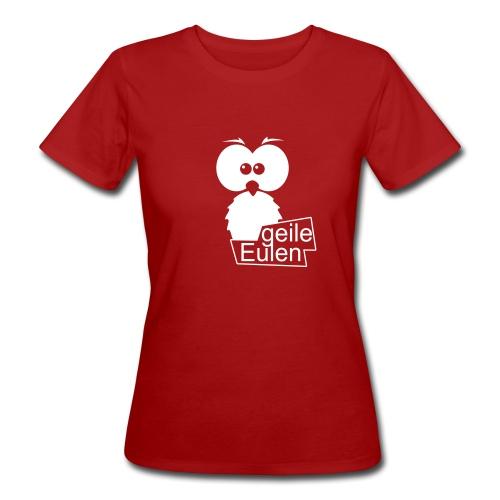 Geiles Logo Ladys 100% Bio-Baumwolle - Frauen Bio-T-Shirt