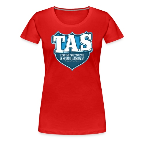 TASS 001 (F) - T-shirt Premium Femme