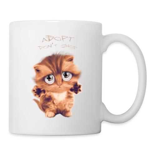 Adopt - Mug blanc