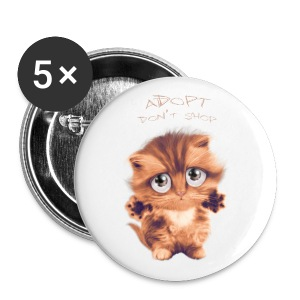 Adopt - Badge grand 56 mm