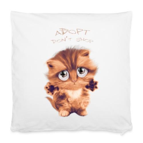 Adopt - Housse de coussin 40 x 40 cm