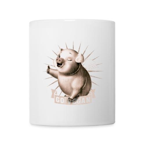 Go Vegan - Mug blanc