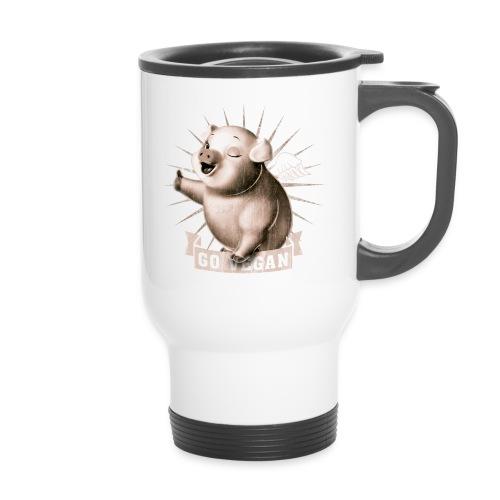 Go Vegan - Mug thermos