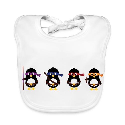 Ninja Penguin Baby's Bib - Baby Organic Bib