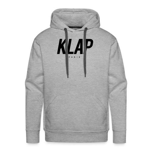 KLAP Paris - Sweat-shirt à capuche Premium pour hommes