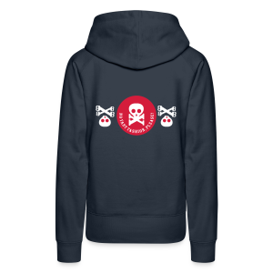 no fast fashion, please!, skulls, frauen kapuzenpullover - Frauen Premium Hoodie