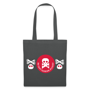 stoffbeutel, no fast fashion, please! skulls - Stoffbeutel